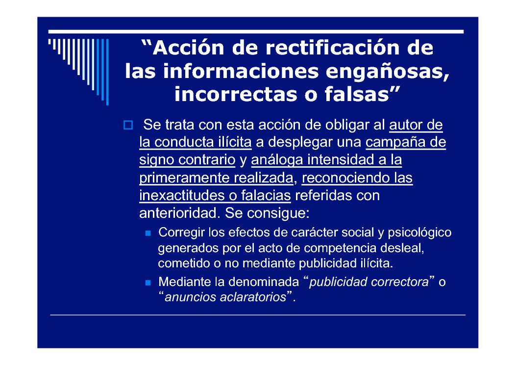As accións para prohibir a publicidade ilícita e desleal